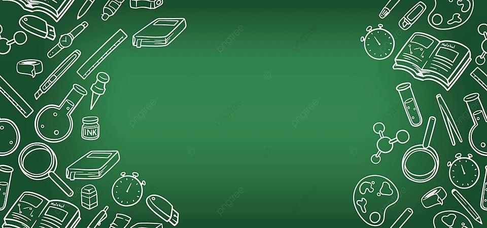 Latar Belakang Sederhana Kembali Ke Sekolah Dengan Warna Hijau, Kembali Ke  Latar Belakang Sekolah, Kembali Ke Sekolah, Sederhana Gambar Latar Belakang  Untuk Unduhan Gratis