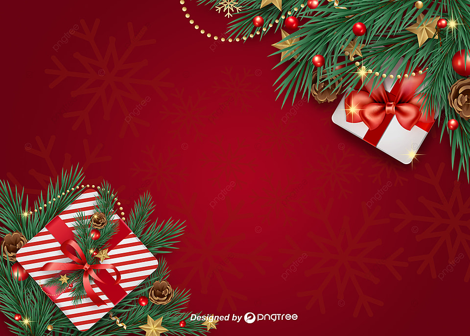 Realistic Design Christmas Gift Box Background Realistic Design Christmas Background Decoration Background Image For Free Download