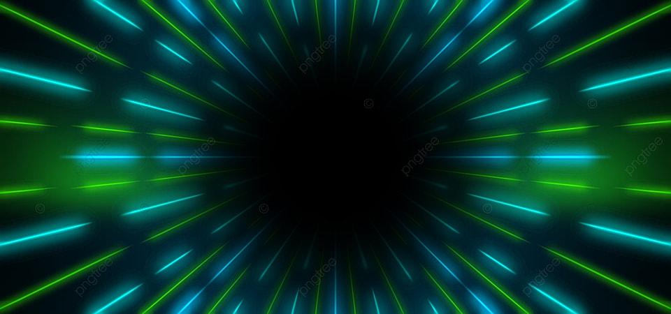 Gambar Defocused Lampu Neon Menyala Warna Hijau Bingkai Pedalaman Berwarna Gambar Latar Belakang Untuk Unduhan Gratis