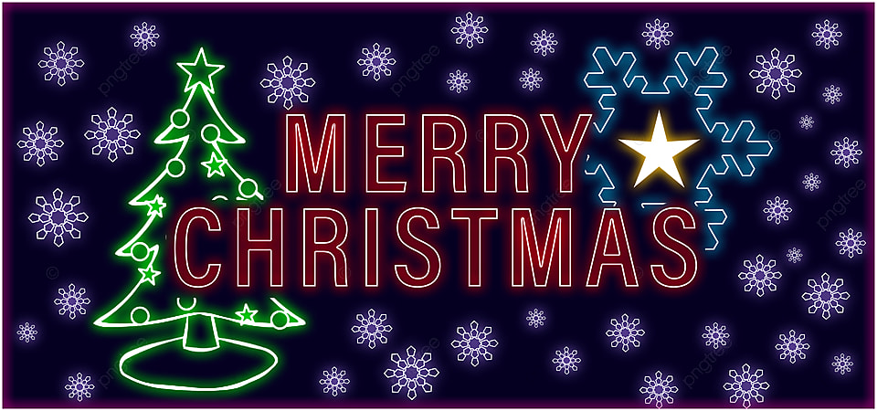 pngtree merry christmas neon background images image 404736