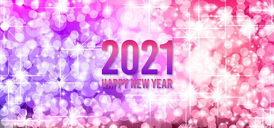 Merry Christmas & Happy New Year 2021 Banner Images Happy New Year Festive Pattern With Christmas Balls And Snowflakes Concept On Color Background For Invitation