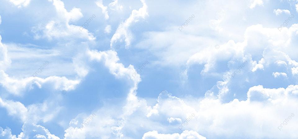 Langit Biru Awan Putih Desain Latar Belakang Abstrak, Latar Belakang  Langit, Musim, Tekstur Gambar Latar Belakang Untuk Unduhan Gratis