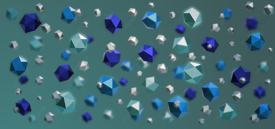 Gambar Lembing Poli Rendah Biru Berkembar Empat Segi Pada Latar Belakang Warna Biru Turquoise 3d Poli Rendah Biru Latar Belakang Untuk Muat Turun Percuma