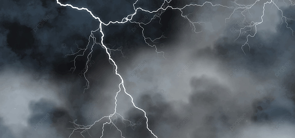Dark Lightning Storm Wallpaper Atmosphere Dazzle Red Background Image For Free Download