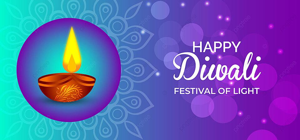 Gambar Selamat Menyambut Kad Ucapan Perayaan Tradisional India Diwali Dengan Latar Belakang Hiasan Latar Belakang Diwali Lampu Latar Belakang Untuk Muat Turun Percuma