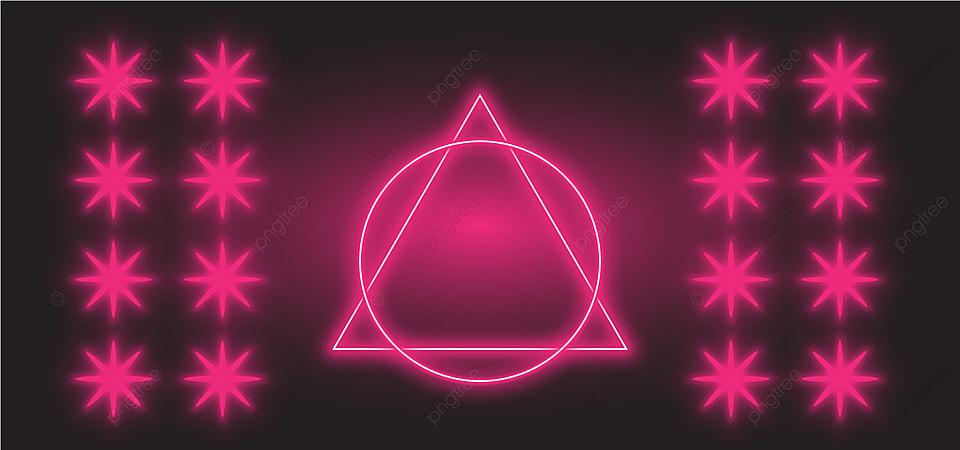 Abstrak Desain Latar Belakang Game Neon Light Pink Wallpaper Baris Penuh Warna Gambar Latar Belakang Untuk Unduhan Gratis