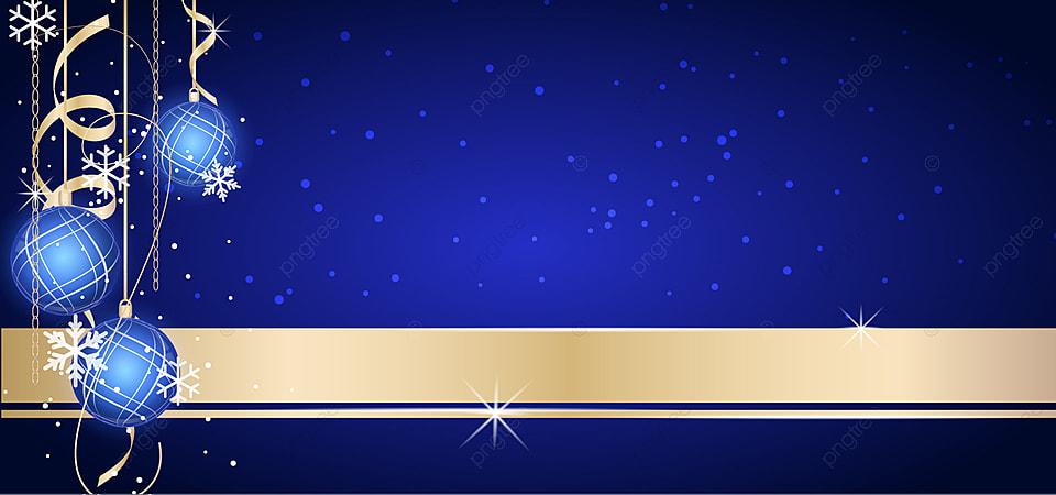 Latar Belakang Bola Musim Dingin Emas Biru Mewah, Liburan, Hari Natal,  Latar Belakang Gambar Latar Belakang Untuk Unduhan Gratis