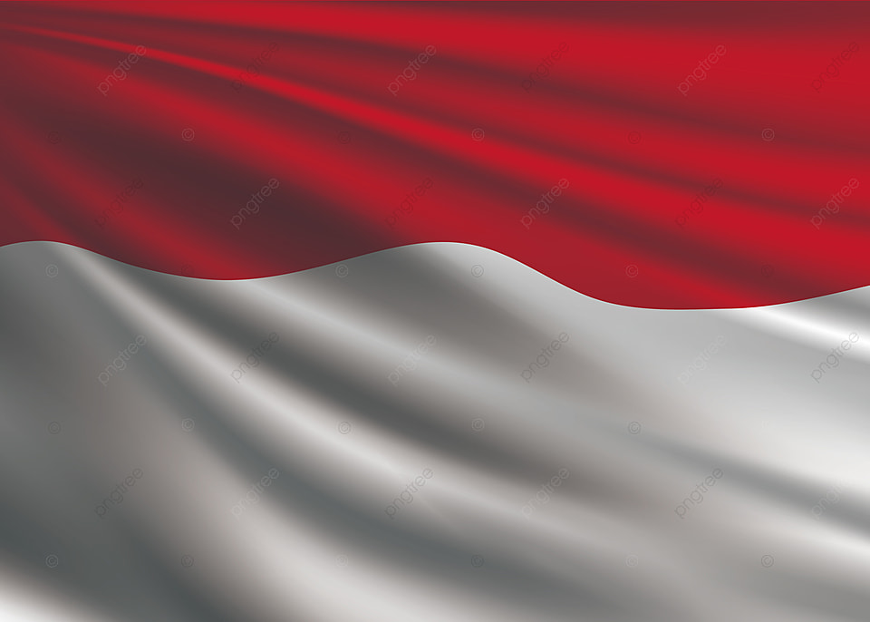 Indonesia Flag Background, Indonesia, Indonesian Flag, Flagpole Background  Image For Free Download