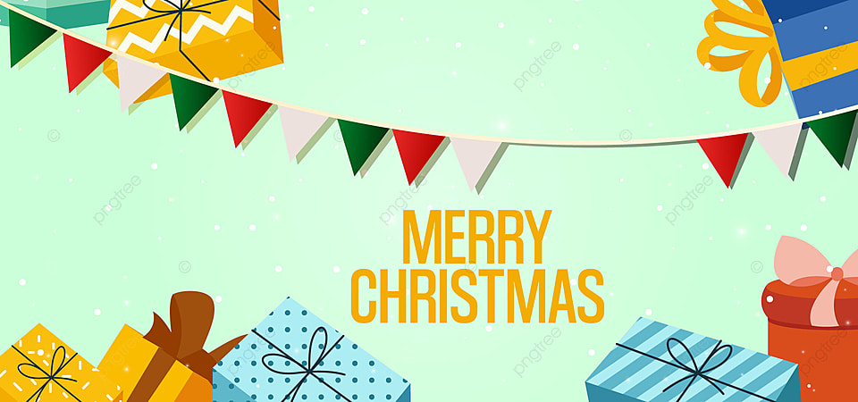 Merry Christmas Gift Vector Illustration Christmas Vector Gift Background Image For Free Download