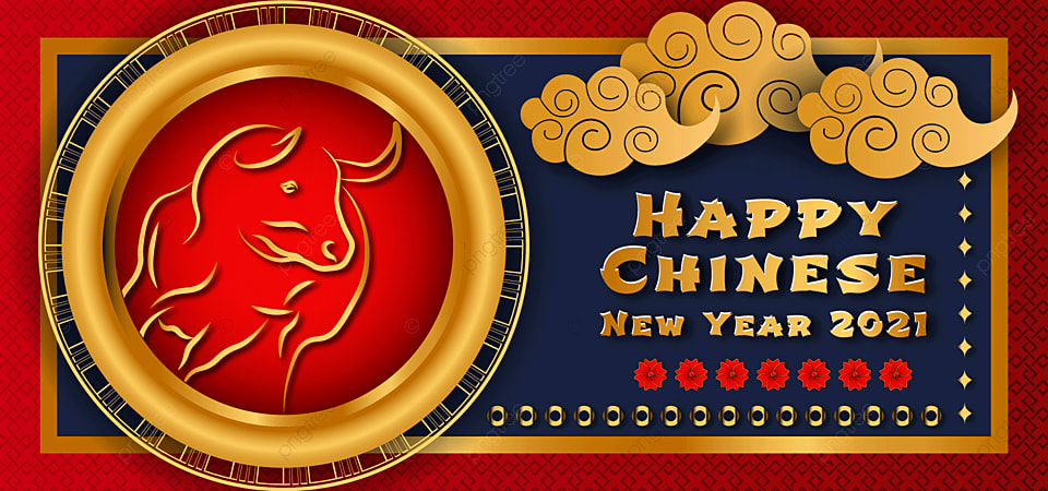 Happy Chinese New Year 2021 Premium Modern Background Happy Festival China Happy Chinese New Year Background Image For Free Download