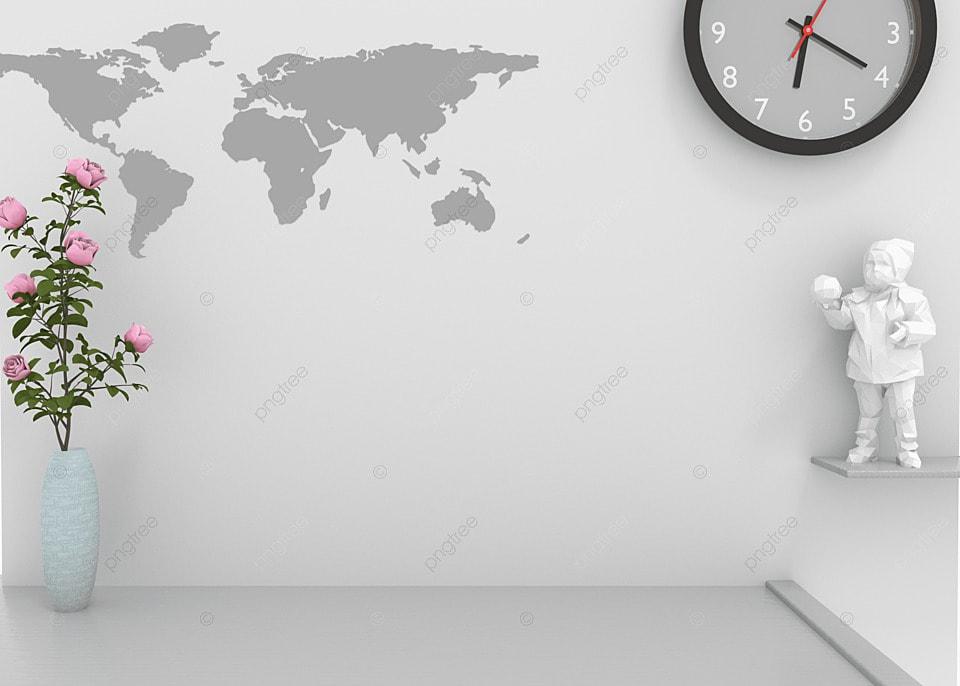 3d Home Office Virtual Background World Map, Kantor, Latar Belakang, Rumah  Gambar Latar Belakang Untuk Unduhan Gratis