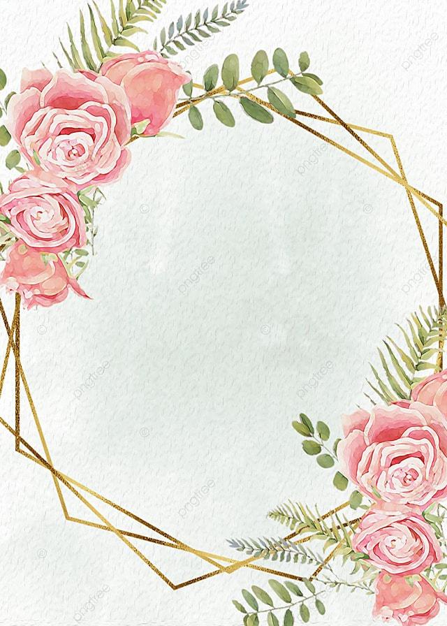 Background Bunga Garis Bersih, Keemasan, Bersih, Tekstur Gambar Latar  Belakang Untuk Unduhan Gratis