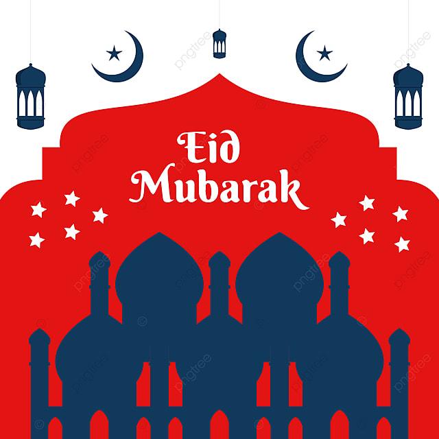 Mubarak Idul Fitri Dengan Lampu Bulan Merah Atau Desain Bintang 2021 Merah Selamat Idul Fitri Ramadan Gambar Latar Belakang Untuk Unduhan Gratis